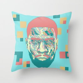Scott Mescudi Throw Pillow