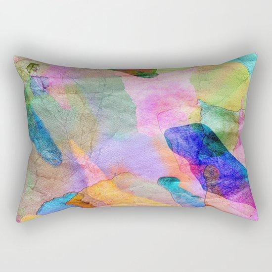 Abstract Texture 03 Rectangular Pillow