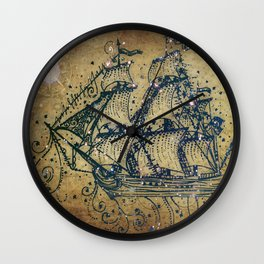 The Great Sky Ship Wall Clock