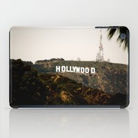 hollywood iPad Cases featuring Hollywood by Claire Jantzen