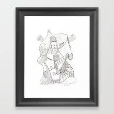 GeometriART 02 Framed Art Print