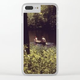 Summer of 1973 Clear iPhone Case