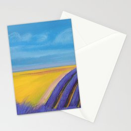 LAVENDER FIELD of SANTA YNEZ Stationery Cards