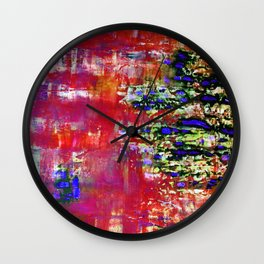 MULBERRY BARK(red) Wall Clock