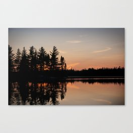 Northern Sunset 002 Canvas Print