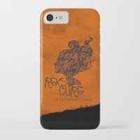 the cure iPhone & iPod Cases featuring Rex's Cure by JBSalsbury
