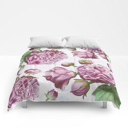 Rose garden III Comforters