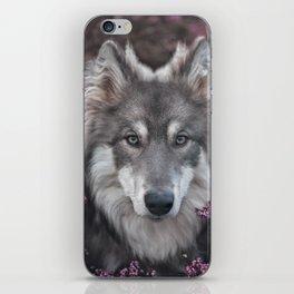 Flower Woof iPhone Skin