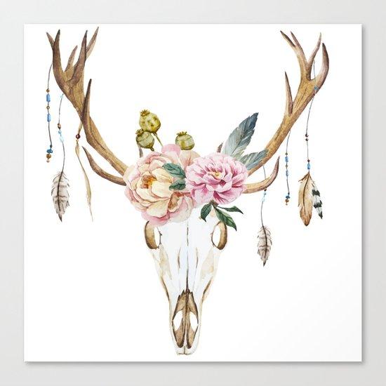 Animal Skull 09 Canvas Print
