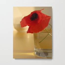 Italian Poppies Metal Print