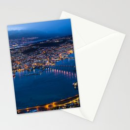 Panoramic Tromso Stationery Cards