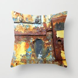 Colors of Rust / ROSTart Throw Pillow