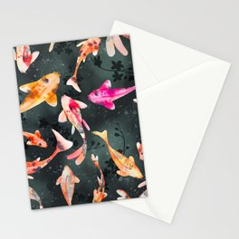 The Koi Pond Stationery Cards