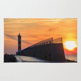 Light House at Port la Nouvelle South France Rug