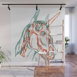 Unicorn Xray Wall Mural