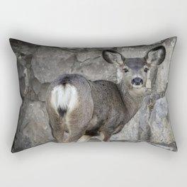 Young Mule Deer Rectangular Pillow
