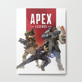 APEX LEGENDS Metal Print