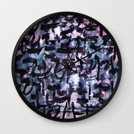 GLYPHS OF XANADU4 Wall Clock