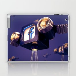 Facebook Account Delivery Laptop & iPad Skin