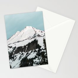 Turquoise Sky Mt. Baker Stationery Cards