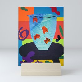 Henri Matisse - Gold Fish still life portrait from the Cut-Outs Collection Mini Art Print