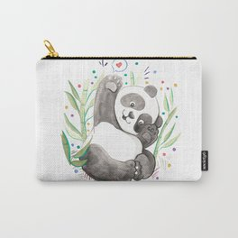 Panda Nursery Illustration Carry-All Pouch