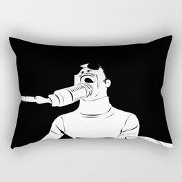Feel the Music with Stevie Wonder Rectangular Pillow