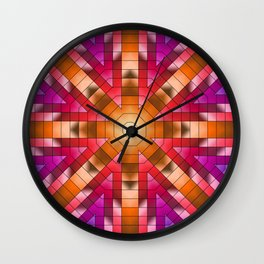 Sunset in the Painted Desert Wall Clock