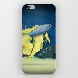 Betta Splash iPhone Skin