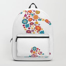 Lacrosse  Flower gift for Lacrosse Player Backpack