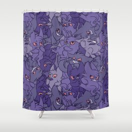 Gengar invasion! Shower Curtain