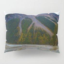 Kinney Flats on the Berg Lake Trail in British Columbia, Canada Pillow Sham
