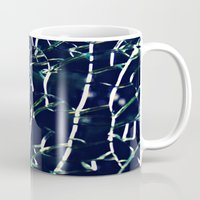 cracked Mugs featuring Cracked by Tea Tree // P H O T O