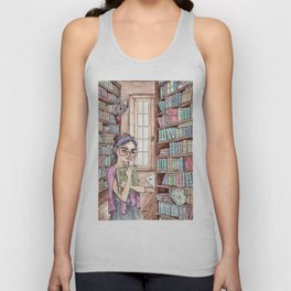 The Librarian Unisex Tank Top