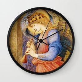 Angel Gabriel Antique Spiritual art Wall Clock