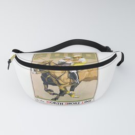 1923 Polo By The North Shore Line Transit Poster Fanny Pack