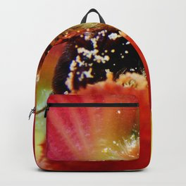 The Bee in the Flower Backpack