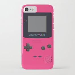 GAMEBOY Color - Pink Version iPhone Case