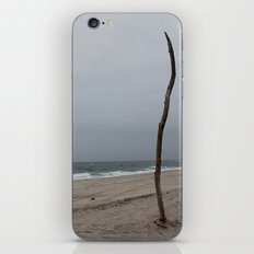 Cloudy Beach Day iPhone & iPod Skin
