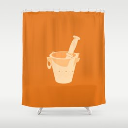 MADE IN MOROCCO #02-THE PESTLE & MORTAR Shower Curtain