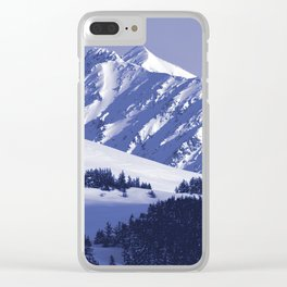 Back-Country Skiing - 8 Clear iPhone Case