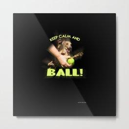 Ball crazed Movitz Metal Print