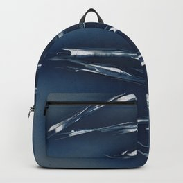 Cobalt Blue Abstract Backpack