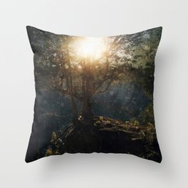 a special kind of night Throw Pillow