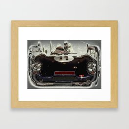 "1956 Lotus ""Eleven"" Sports Car Framed Art Print"