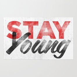 Stay Young Rug