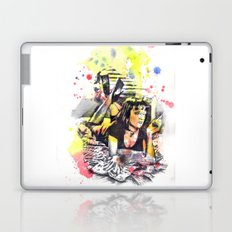 Uma Thurman From Pulp Fiction Laptop & iPad Skin