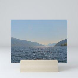 Teletskoye lake. Altai. Russia Mini Art Print
