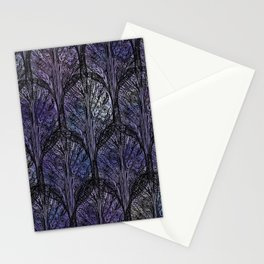 Dark Veil Trees Stationery Cards