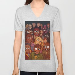 The Muppets Unisex V-Neck